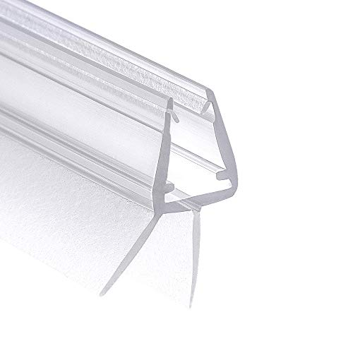 Wellba Premium Duschtür Dichtung (1x 100cm) für 6mm 7mm 8mm Glastür Stärken...