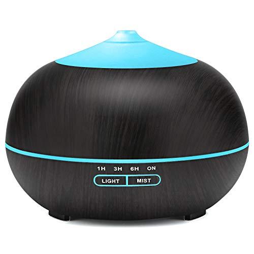 400ml Aroma Diffuser, Tenswall Ultraschall Luftbefeuchter Aromatherapie...