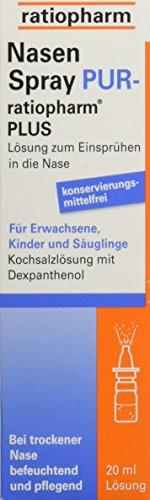 Nasenspray PUR-ratiopharm Plus, 20 ml