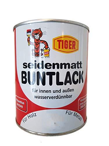 Acryllack Tiger Buntlack kirschrot 382 seidenmatt 0,75l