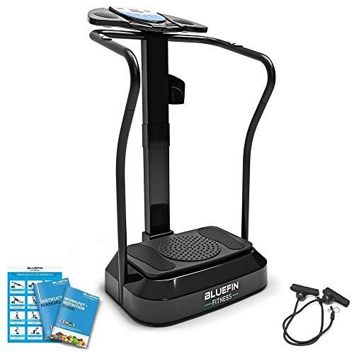 Bluefin Fitness Vibrationsplatte Pro Modell   Verbessertes Design mit Leisen...