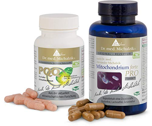 Mitochondrium forte PRO + PQQ - Bundle nach Dr. med. Michalzik - 150 Kapseln -...