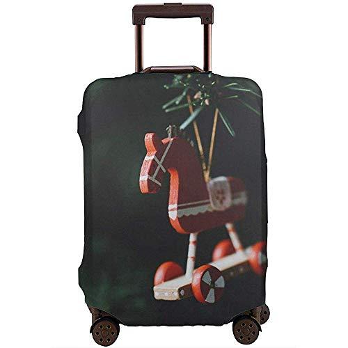 Weihnachtsbaum Pferd Dekoration Kofferbezug Protector Waschbar Neujahr Elastic...