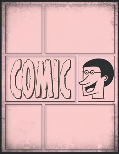 Anime Zeichnen Lernen Blanko Buch: Praktisches Geschenk Mann A4 Comic Papier mit...