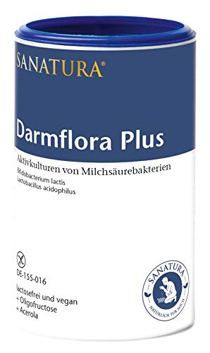 Sanatura Darmflora Plus – 200 g – Milchsäurebakterien mit 12 Mrd KBE pro...