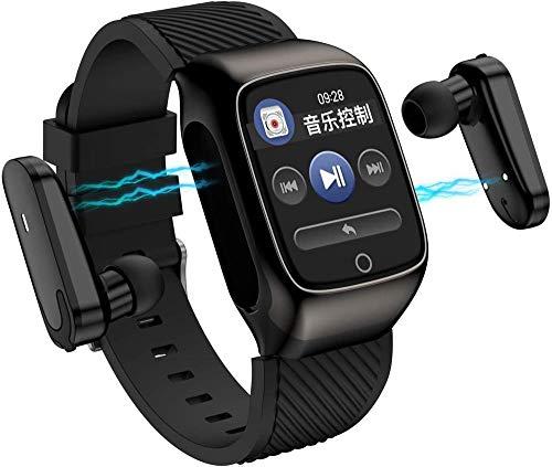 TYX-SS Smart Watch 2-in-1 Smart Watch TWS Ohrhörer Fitness Tracker True...