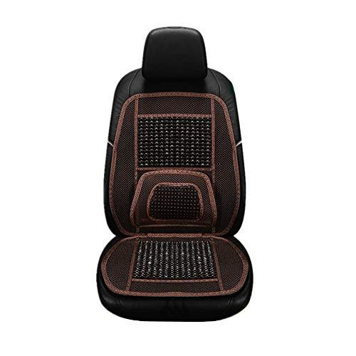 Autositzaufleger Holzkugeln Massage Holzperlen Sitzaufleger Universal Auto Seat...