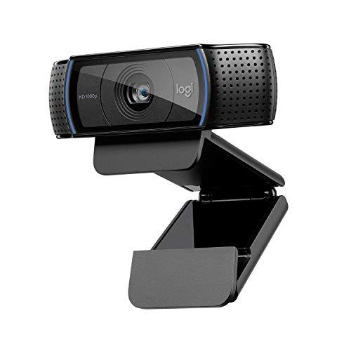 Logitech C920 HD PRO Webcam, Full-HD 1080p, 78° Sichtfeld, Autofokus, Klarer...