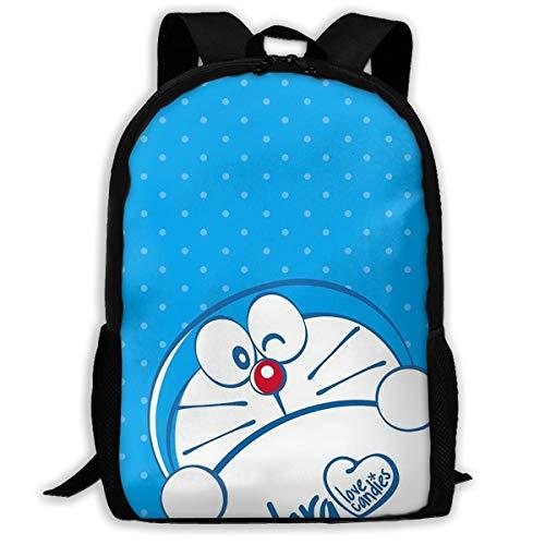 LIUYAN niedlicher Doraemon lässiger Rucksack, Schultasche, Reisen,...