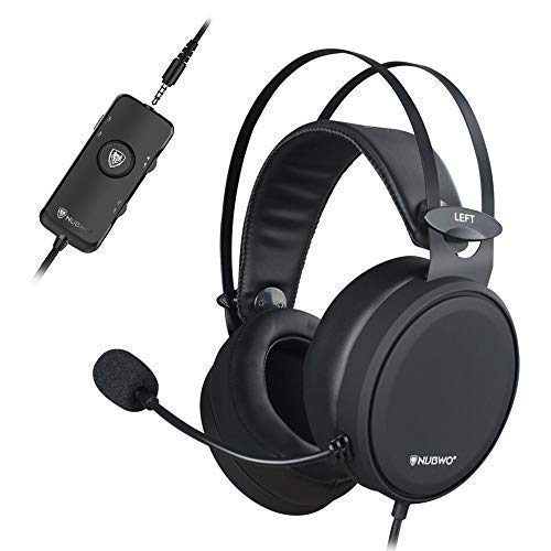 NUBWO PS4 Xbox One Headset 7.1 Surround Sound PC USB Gaming Headset mit...