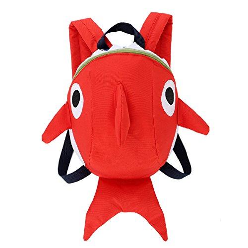 Shark Rucksack für Mädchen Jungen Kindergarten Schultasche mit...
