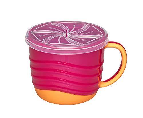 nip SnackBox 2in1, Greifbox, Tasse pink-orange, rosa
