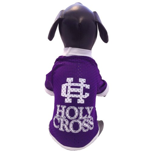 All Star Dogs NCAA Holy Cross Crusaders Athletic Mesh Dog Jersey, Herren,...