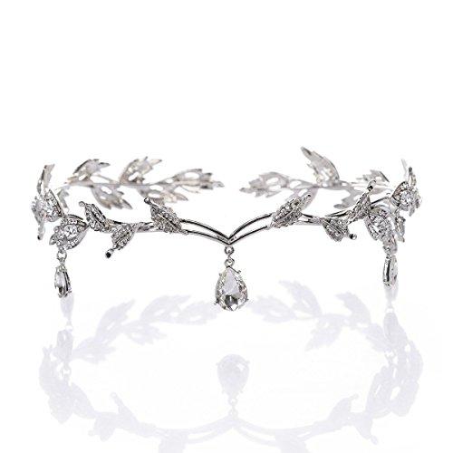 Hochzeit Kristall Kopfschmuck Perlen Stirnband Strass Stirnband Braut...