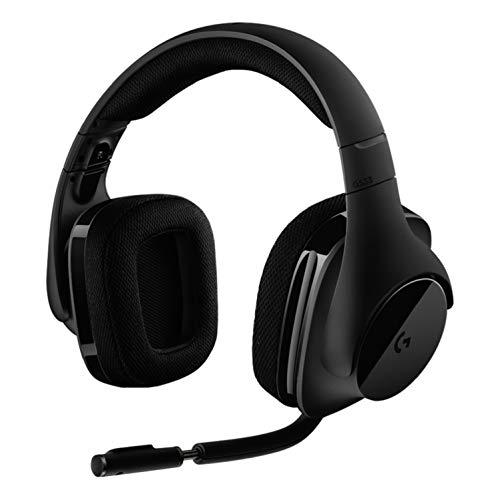 Logitech G533 Wireless Gaming-Headset, 7.1 Surround Sound, DTS Headphone:X 3D,...