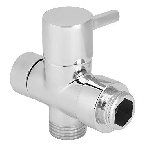 Wosune /2-Zoll-Gewinde-Duschumsteller, Duschventil, für Rasenbadezimmer...