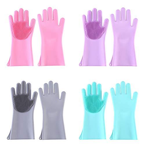 Silikon Handschuhe isolierte wasserdichtes multifunktionales Geschirr Chor...