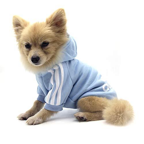 QiCheng&LYS Hundemantel Adidog Hund Hoodies Kleidung, Pet Puppy Katze Niedlicher...