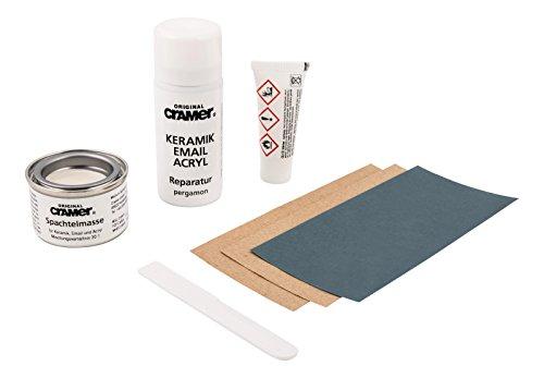 Cramer 66107 2 Reparatur-Set für Keramik,Email und Acryl, pergamon