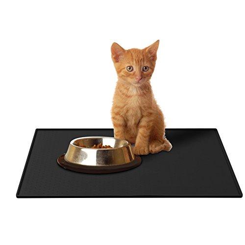 Parsion Napfunterlage Hund, Katzen-fressnäpfe Futtermatte für Haustier,...