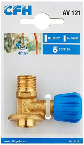 CFH, 52121 Anschlussventil AV 121, Gold/blau