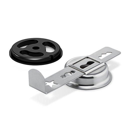 Bosch Spritzgebäckvorsatz MUZ9SV1, für feines Spritzgebäck, 4 Formen,...