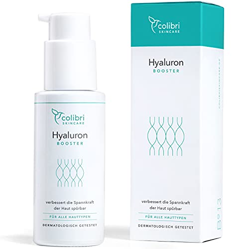 Hyaluronsäure Serum hochdosiert - Natürliche Hyaluron Anti-Aging Creme für...