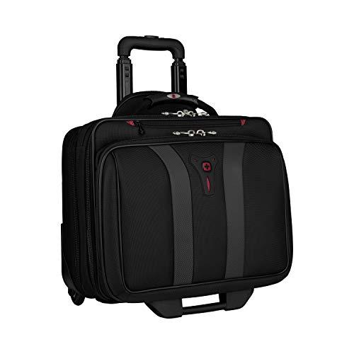 Wenger 600659 GRANADA 17-Zoll-Rad-Laptop-Tasche, gepolsterte Laptopfach mit...