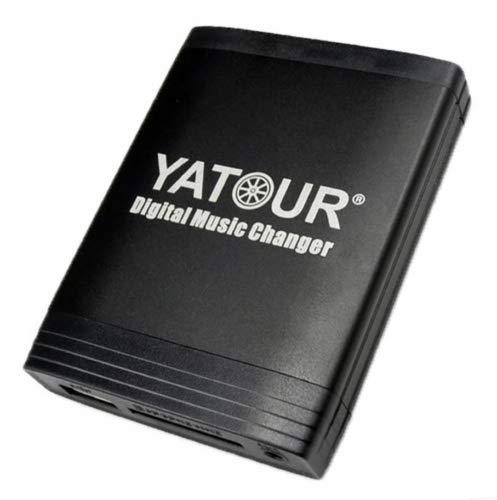Yatour YTM06-VW8+20Pin-BT Musikadapter für USB, SD, AUX, Freisprecheinrichtung...