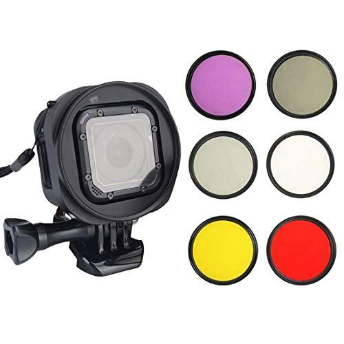 Objektivfilter 6-in-1 58 mm ND2 Objektivfilter + UV-Objektivfilter + Rotfilter +...