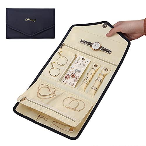 Lichi Schmuckorganizer, Reise-Schmucktasche, Reise-Box, Etui für mehrere...