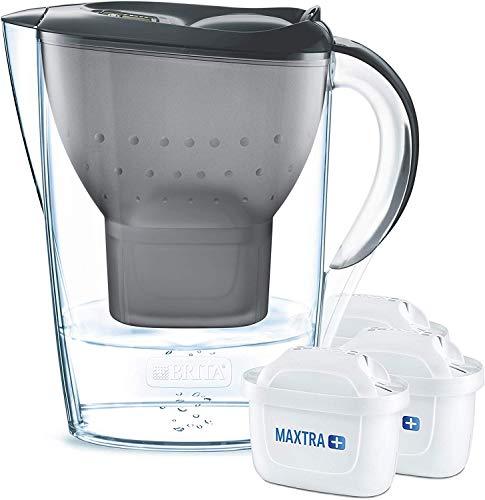 Brita Wasserfilter Starterpaket Marella, inkl. 3 Maxtra+ Filterkartuschen...
