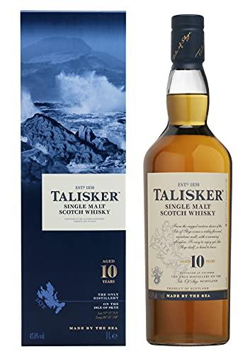 Talisker Talisker 10 Jahre Single Malt Scotch Whisky – In traditioneller...