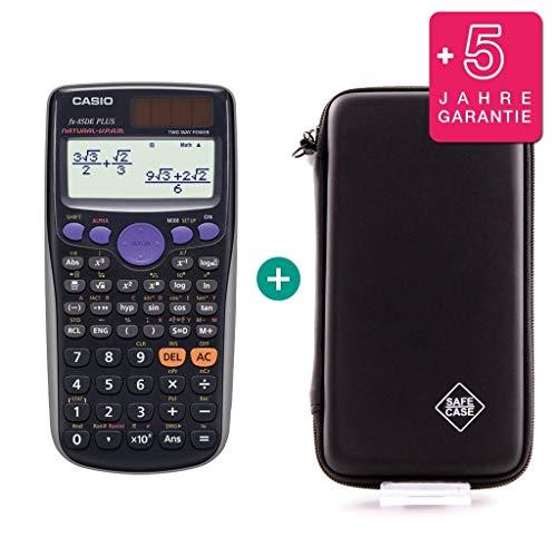 Casio FX-85DE Plus + Schutztasche + Erweiterte Garantie