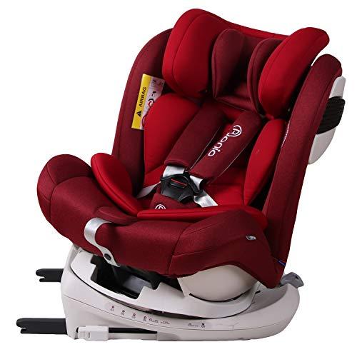 Bonio Baby Autositz 360° Drehmechanismus Gruppe 0+/1/2/3 - Ab Geburt bis ca. 12...