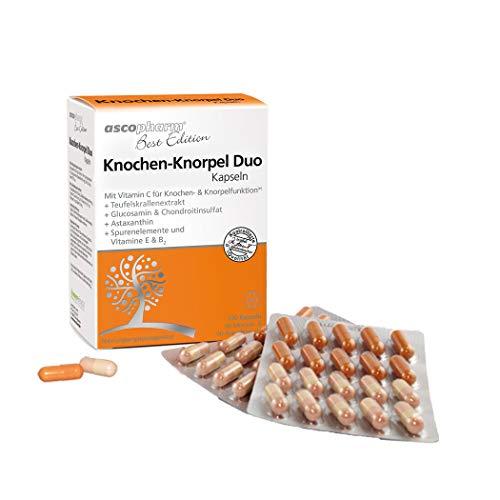 Knochen-Knorpel Duo Kapseln   Mit Glucosamin & Chondroitinsulfat  ...