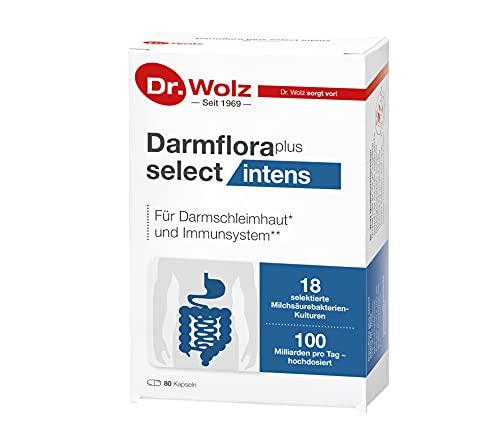 Darmflora plus select intens von Dr. Wolz, hochdosierte Bakterienkulturen, mit...