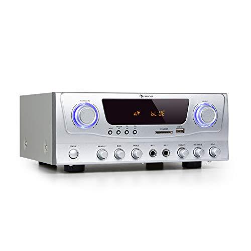 auna Amp-2 BT HiFi-Verstärker, Leistung: 2 x 50 Watt RMS, Bluetooth-Funktion,...