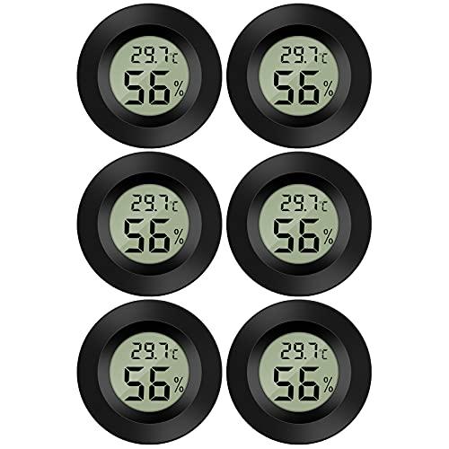 Thlevel 6X Mini LCD Digital Thermometer Temperatur Luftfeuchtigkeit Tester...