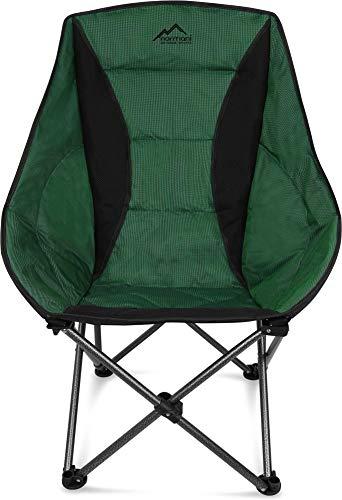 normani Deluxe Campingsessel Relaxsessel XXL Moonchair Schalensitz- Comfort...