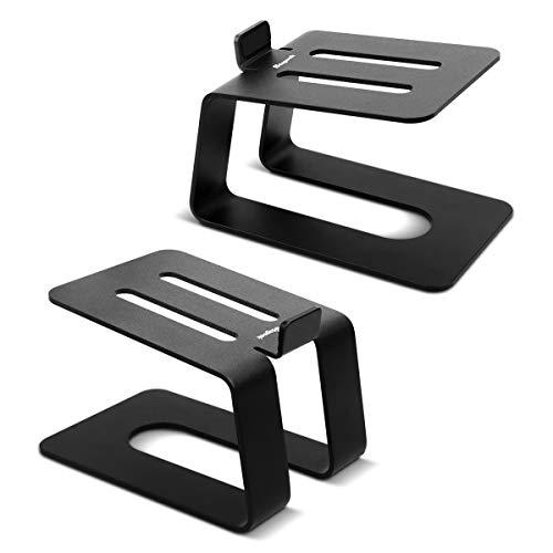 Stageek Desktop Lautsprecher Ständer Alu, Paar, Universal Boxenständer...