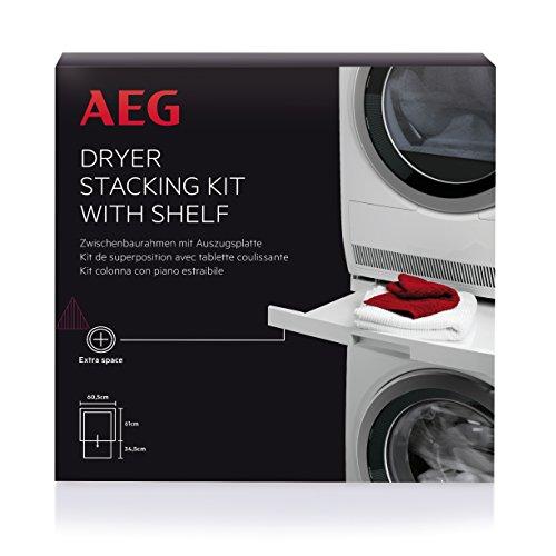 Zwischenbaurahmen Waschmaschine Trockner AEG Electrolux 9160931557 SKP11