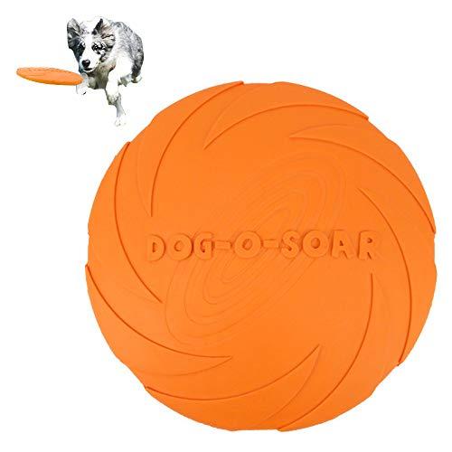 OSIAS Hunde-Frisbee aus Gummi für Fliegendes Haustier