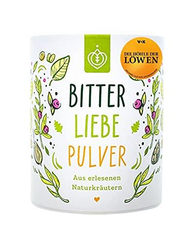 BitterLiebe® Bitterstoffe Pulver 100g mit Ingwer Kurkuma Pulver I Smoothie...
