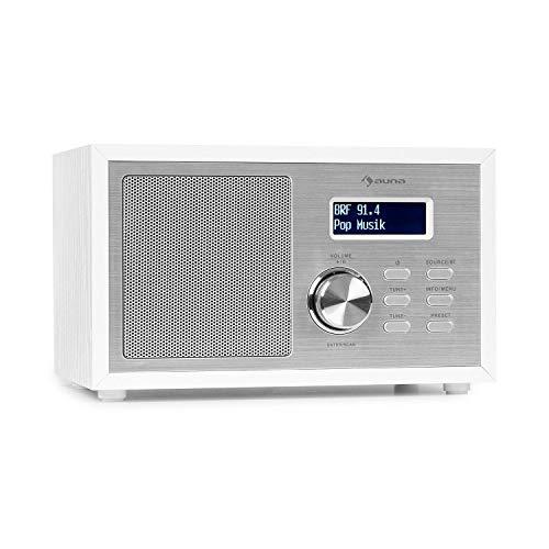 auna Ambient - DAB+/FM Radio, Bluetooth-Streaming: Version 5.0 mit A2DP-Support,...