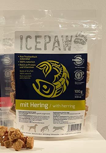 ICEPAW trailsandtales Leckerli-Kombipaket für Hunde: Garnele 500g, Filet pur...