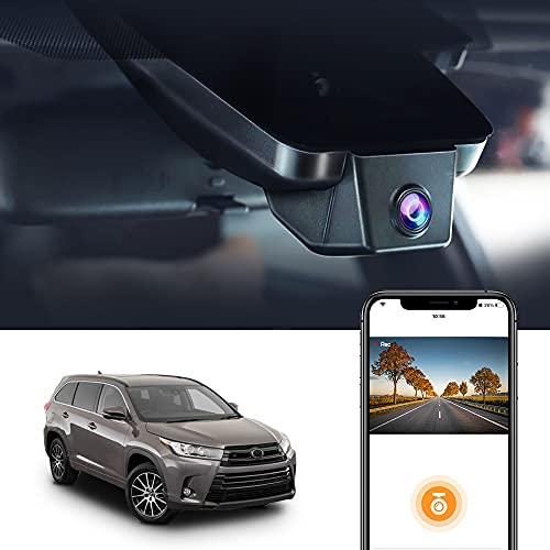 Autokamera für Toyota Highlander 3rd Gen 2017-2019,FITCAMX UHD 2160P Original...