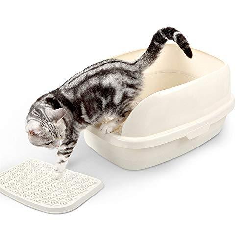 Katzentoilette mit Rand, Robuste Katzentoilette mit hohem Mit dem Fußpedal und...