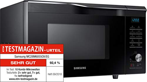 Samsung MC28M6055CK/EG Kombi-Mikrowelle mit Grill und Heißluft / 900 W / 28 L...