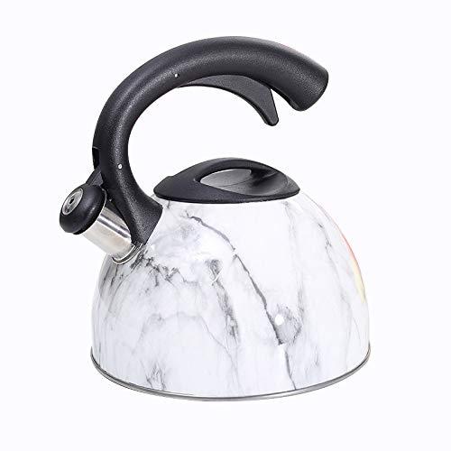 Edelstahl Wasserkocher Wasserkocher Gas-Gas-Kocher Teekanne Automatic Sound...